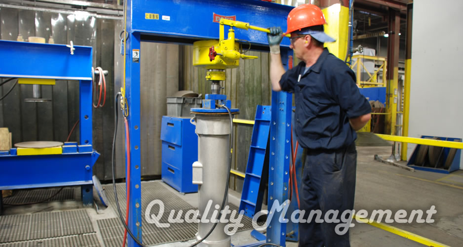 Quality Management System - Gamma Foundries